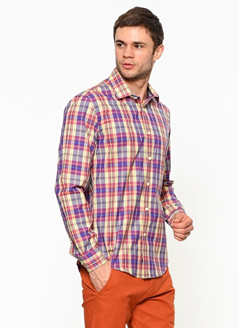Dockers Ekose Gömlek Renkli